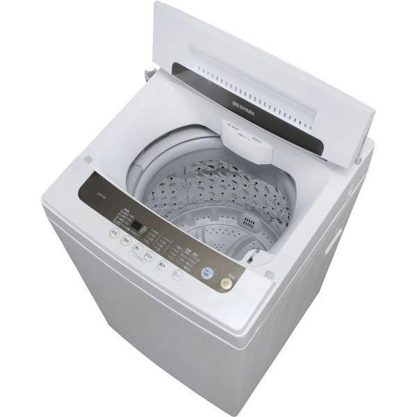 洗濯機 5kg アイリスオーヤマ 新品 設置 一人暮らし 全自動洗濯機 新生活 えりそでクリップボード付き IAW-T501  タイムセール!|irisplaza|09