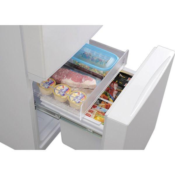 冷蔵庫 156L 2ドア アイリスオーヤマ 新品 新生活 ノンフロン冷凍冷蔵庫 ホワイト 白物家電 大容量 AF156-WE タイムセール! irisplaza 17