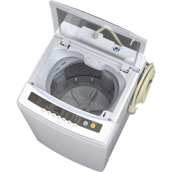 洗濯機 7kg アイリスオーヤマ 全自動 一人暮らし 新品 全自動洗濯機 部屋干し お洗濯 ドライ IAW-T701 irisplaza 17