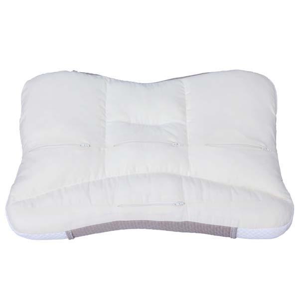 枕 アイリスオーヤマ まくら ピロー おしゃれ 横向き 洗える 匠眠 高さ調節ピロー ハイクラスピロー M ソフト PE4S-3757|irisplaza|02