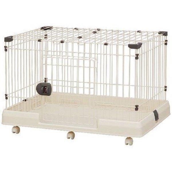ペットケージ 犬 中型犬 大型犬 室内用 アイリスオーヤマ ミルキーブラウン
