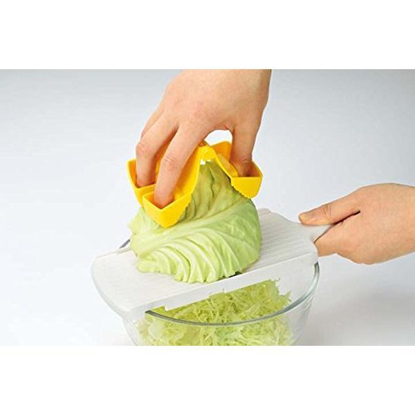 野菜ホルダー スライサー 指 ガード ホルダー 大根 おろし フルベジ つかめる野菜ホルダー FV-626 安心の日本製|iristopmart123|02