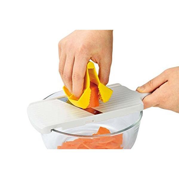 野菜ホルダー スライサー 指 ガード ホルダー 大根 おろし フルベジ つかめる野菜ホルダー FV-626 安心の日本製|iristopmart123|03