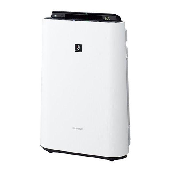 空気清浄機 シャープ プラズマクラスター 7000 加湿空気清浄機 スタンダード スリム 薄型 SHARP KC-H50-W|iristopmart123|02