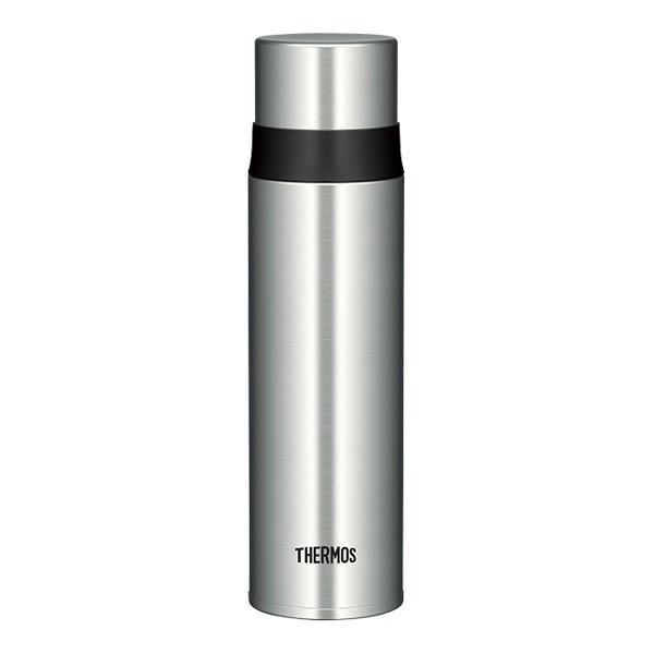 サーモス 水筒 人気 おしゃれ 500ml 保冷 保温 コーヒー用 ステンレスボトル FFM-500-SBK ステンレスブラック1 運動会|irodorikukan|04