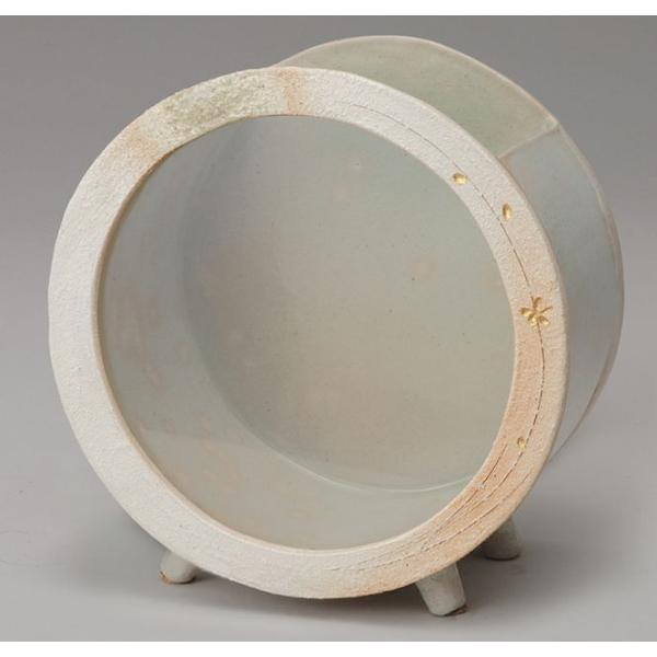 白金彩丸 水槽 (大) 信楽焼 金魚鉢 水槽 陶器 めだか鉢 水鉢 ただ今欠品中、2021年9月24日仕上がり予定