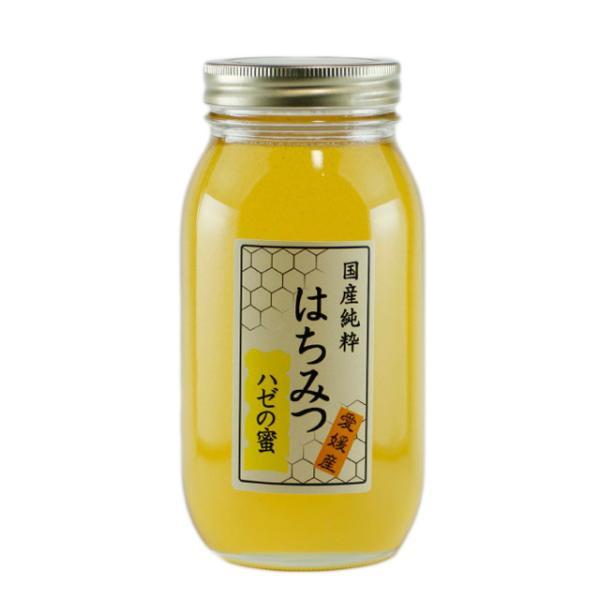 はちみつ 国産はちみつ 蜂蜜 ハチミツ 愛媛県産 ハゼの蜜(単花蜜) 1Kg|iroha-beebeey|02