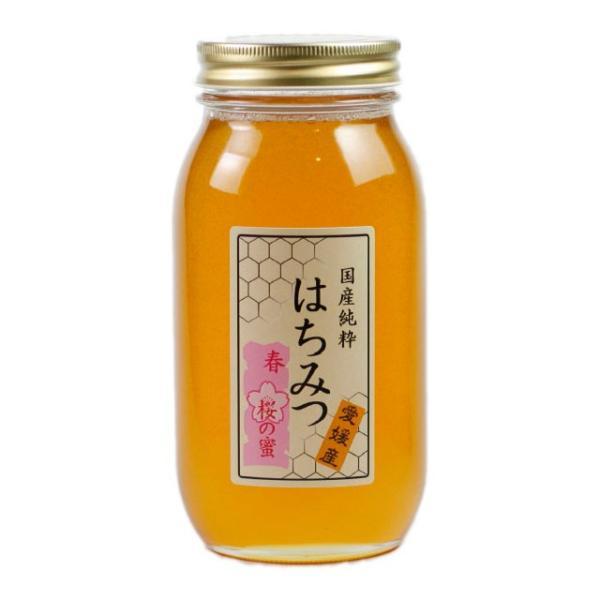 はちみつ 国産はちみつ 蜂蜜 ハチミツ 愛媛県産 桜の蜜 さくら サクラ 1Kg|iroha-beebeey|02