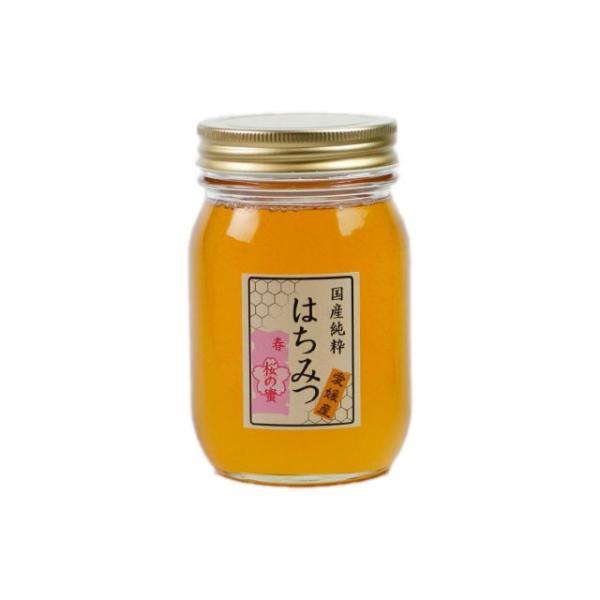 はちみつ 国産はちみつ 蜂蜜 ハチミツ 愛媛県産 桜の蜜 さくら サクラ 500g|iroha-beebeey|02