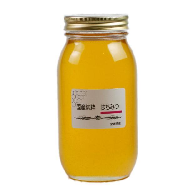 国産純粋はちみつ 1000g はちみつ ハチミツ 蜂蜜 国産蜂蜜 国産ハチミツ R2新蜜 愛媛産 1Kg|iroha-beebeey|02
