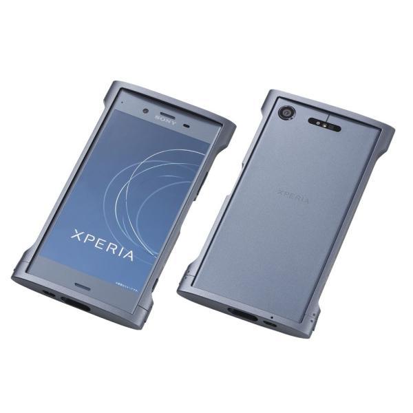 2215b939d2 ... Deff ディーフ 特約店 Xperia XZ1 アルミバンパー ケース CLEAVE Aluminum Bumper Chrono for Xperia  XZ1 ...