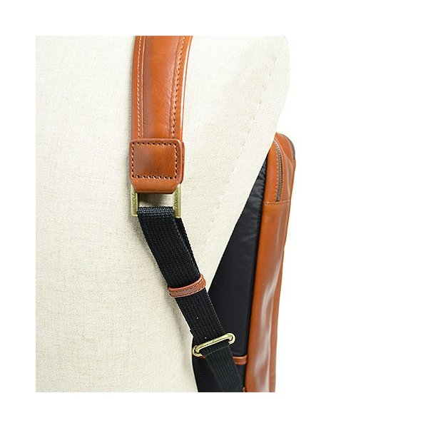 ダコタ Dakota ブラックレーベル カワシ リュック メンズ レディース デイパック ビジネスバッグ 本革 B4 大容量 1620162 ブランド|irohamise|12