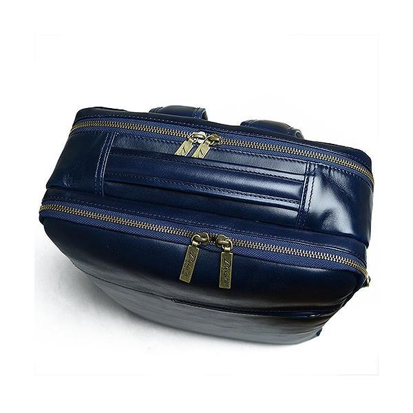 ダコタ Dakota ブラックレーベル カワシ リュック メンズ レディース デイパック ビジネスバッグ 本革 B4 大容量 1620162 ブランド|irohamise|05