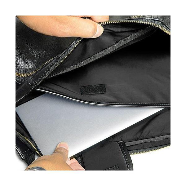 ダコタ Dakota ブラックレーベル カワシ リュック メンズ レディース デイパック ビジネスバッグ 本革 B4 大容量 1620162 ブランド|irohamise|08