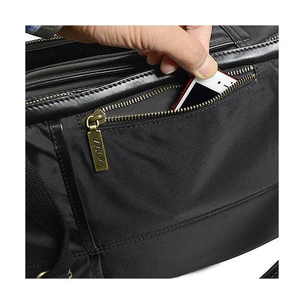 ダコタ Dakota ブラックレーベル カワシ リュック メンズ レディース デイパック ビジネスバッグ 本革 B4 大容量 1620162 ブランド|irohamise|09