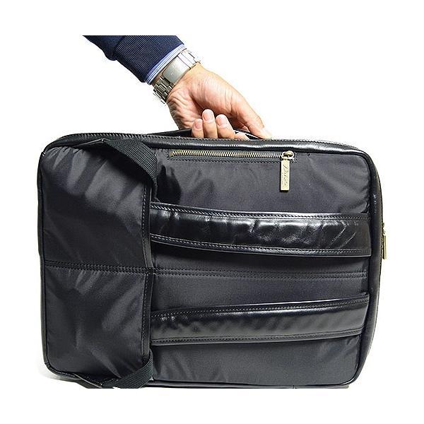 ダコタ Dakota ブラックレーベル カワシ リュック メンズ レディース デイパック ビジネスバッグ 本革 B4 大容量 1620162 ブランド|irohamise|10