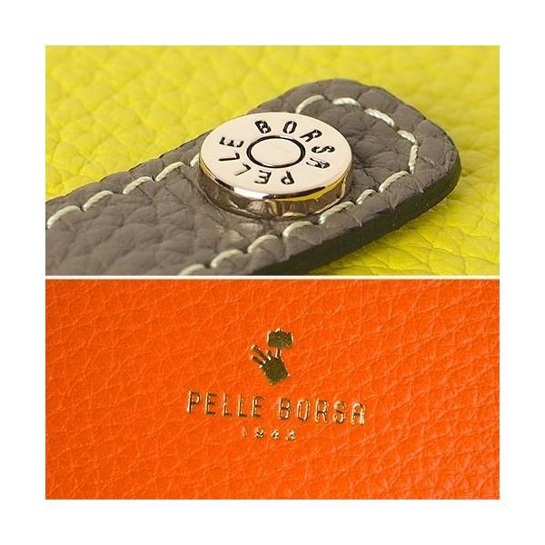 ペレボルサ PELLE BORSA レネット グッズ スリムウォレット 長財布 薄い 薄型 レディース 本革 革 ブランド 日本製 大容量 4707|irohamise|09