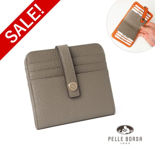 ペレボルサ PELLE BORSA マーノグッズ Mano Goods カードケース コンパクト ミニ財布 4727|irohamise