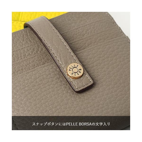 ペレボルサ PELLE BORSA マーノグッズ Mano Goods カードケース コンパクト ミニ財布 4727|irohamise|05