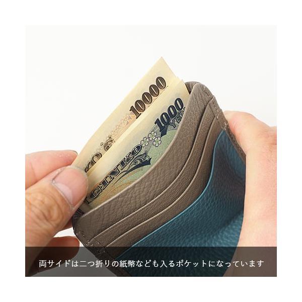 ペレボルサ PELLE BORSA マーノグッズ Mano Goods カードケース コンパクト ミニ財布 4727|irohamise|08