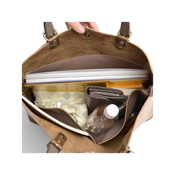 アルト alto トートバッグ 大きめ 肩掛け メンズ レディース ビジネスビジネスバッグ 本革 A4 B4 AMSB-1001 ブランド カジュアル irohamise 11