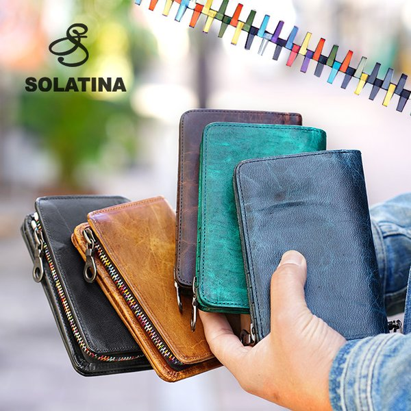 SOLATINA(ソラチナ)『二つ折り財布(SW-38151)』