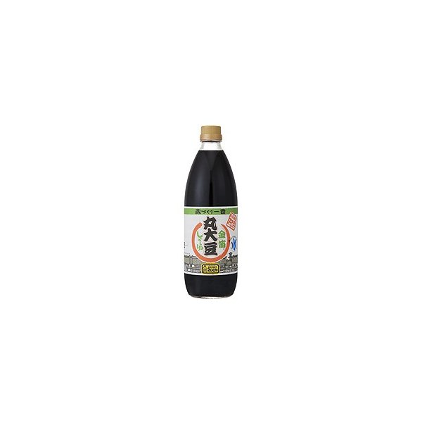 金笛丸大豆しょうゆ 1リットル 笛木醤油