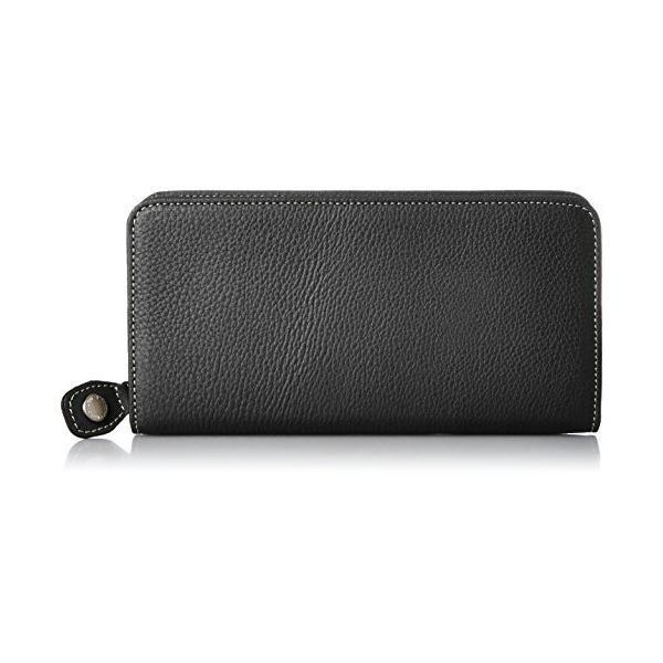 キタムラ 財布YH0082ダークブルー/アイボリーステッチ 紺 10911