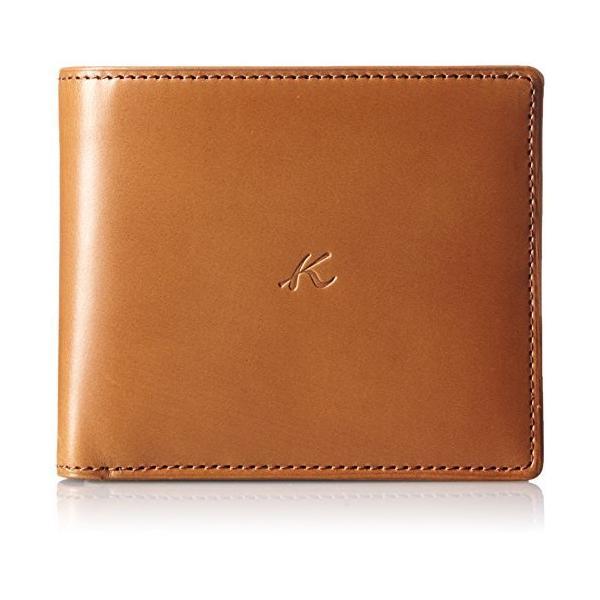 キタムラ 財布二折財布RH0468キャメル 茶色 61611