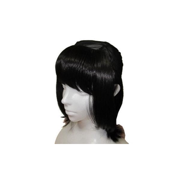 抗がん剤 脱毛 / 毛付き帽子 / ボーダーシャロットピンク・ブラック セット販売