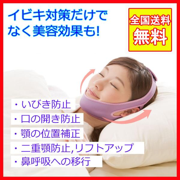 いびき防止ベルト ナイトサイレンサー イビキ防止 グッズ いびき対策 イビキ対策 効果ある 快眠 安眠 グッズ 歯ぎしり防止 熟睡 ほうれい線対策