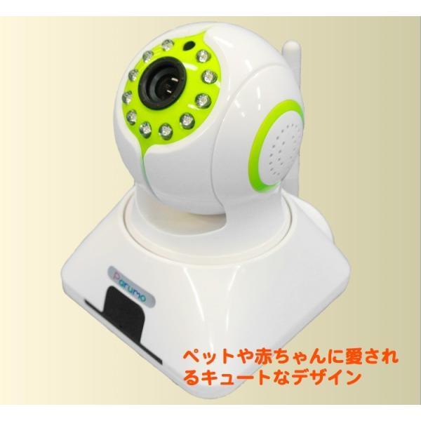 (iSEED )インターネットを介して、画像、音声で見守りできる遠隔操作カメラ パルモミニ iS-500|iseed-shop|03