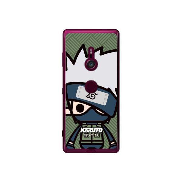 【期間限定特価】Xperia XZ3 SOV39・SO-01L・801SO ナルト疾風伝 ズーム はたけカカシ (ソフトTPUクリア)