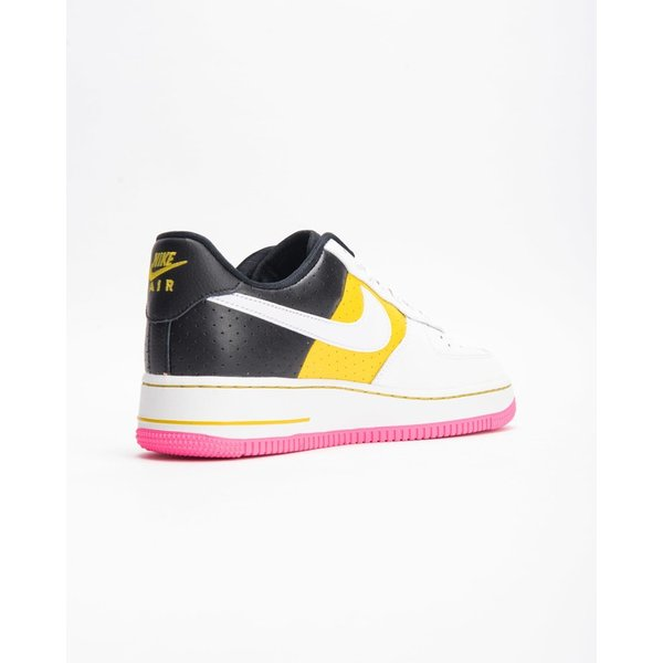 【代金引換不可】ウーメンズ NIKE W AIR FORCE 1 07 SE MOTO SUMMIT WHITE/WHITE-TOUR YELLOW-BLACK AT2583-100