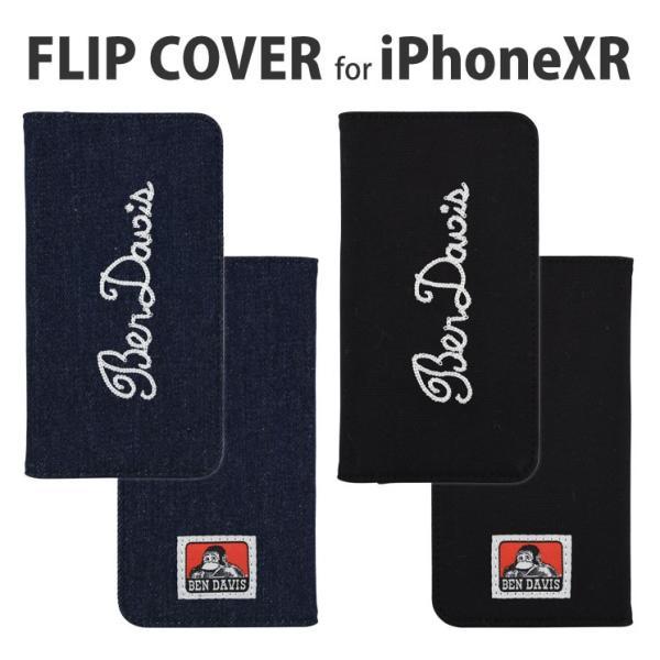 BEN DAVIS iPhoneXR対応フリップカバー GBD-02|isfactory