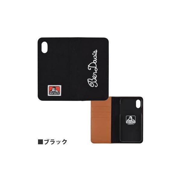 BEN DAVIS iPhoneXR対応フリップカバー GBD-02|isfactory|02