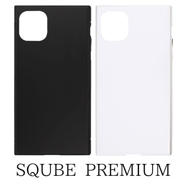 iPhone 11 Pro Max New iPhone 2019 6.5inch 専用 SQUBE PREMIUM CASE シンプル マグネット