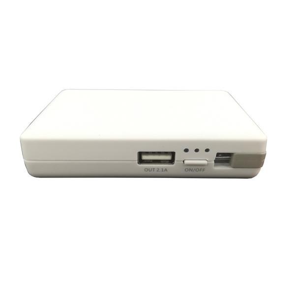 モバイルバッテリー microUSB AC充電付き 3000mAh 送料無料 isfactory 11