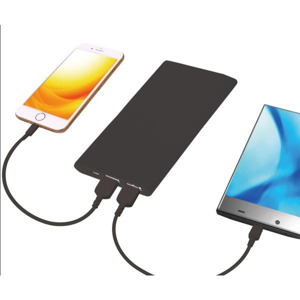 モバイルバッテリー microUSBスタンダード 5000mAh|isfactory|06