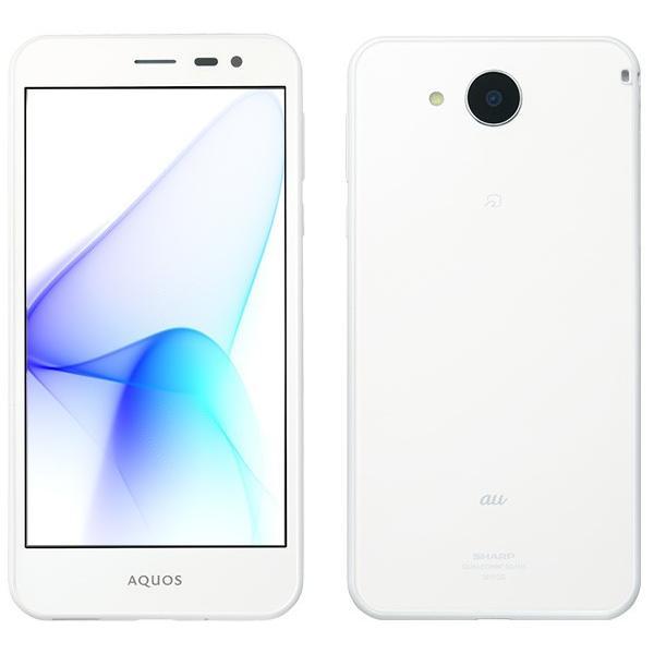 AQUOS U SHV35 16GB シルキーホワイト auの画像
