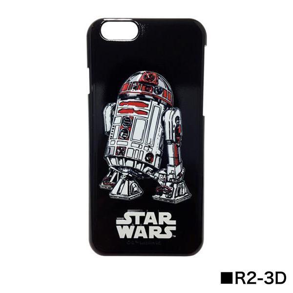 STAR WARS スターウォーズ iPhone6/iPhone6s対応 3Dシェルジャケット STW-31|isfactory|07