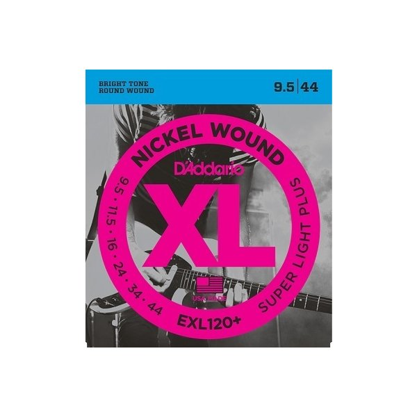 D'Addario / EXL120+ XL NICKEL Electric Guitar Strings Super Light Plus 095-44 (渋谷店)