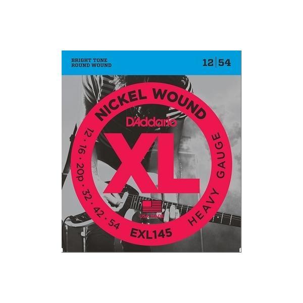 D'Addario / EXL145 XL NICKEL Electric Guitar Strings Heavy  12-54 (渋谷店)