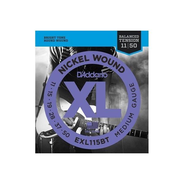 D'Addario / EXL115BT XL NICKEL Electric Guitar Strings Balanced Tension Medium 11-50 (渋谷店)