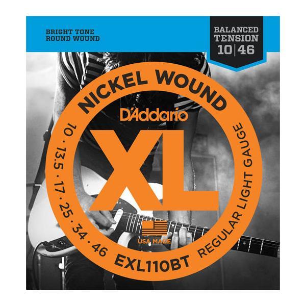 D'Addario / EXL110BT Balanced Tension Regular Light 10-46 エレキギター弦(池袋店)