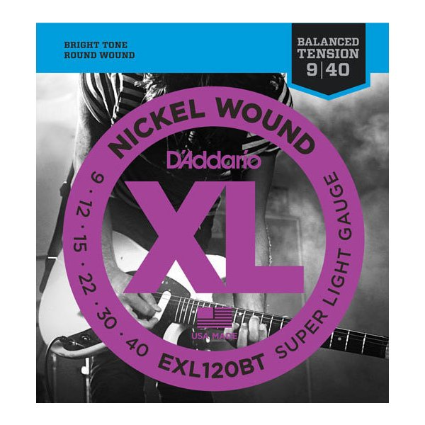 D'Addario / EXL120BT Balanced Tension Super Light 09-40 エレキギター弦(池袋店)