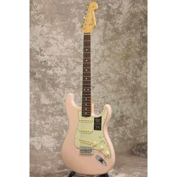 Fender / American Original 60s Stratocaster Rosewood Fingerboard Shell Pink フェンダー(S/N V1972219)(池袋店)|ishibashi-shops|02