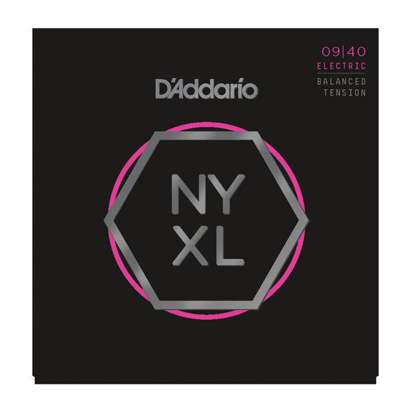 D'Addario / NYXL Series Electric Guitar Strings NYXL0940BT Balanced Tension Super Light 9-40 エレキギター弦(横浜店)