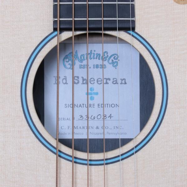 MARTIN / Ed Sheeran 3 DIVIDE [÷] マーチン(エド・シーラン シグネチャー)(S/N 336034)(御茶ノ水HARVEST_GUITARS) ishibashi-shops 09