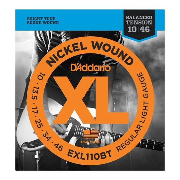 D'Addario / EXL110BT ダダリオ エレキ弦 1セット Balanced Tension Regular Light (10-46)